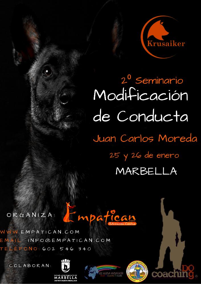 Seminario modificación de conducta Juan Carlos Moreda 25 enero